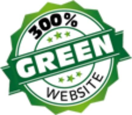 Green web hosting logo for Equation Web Design