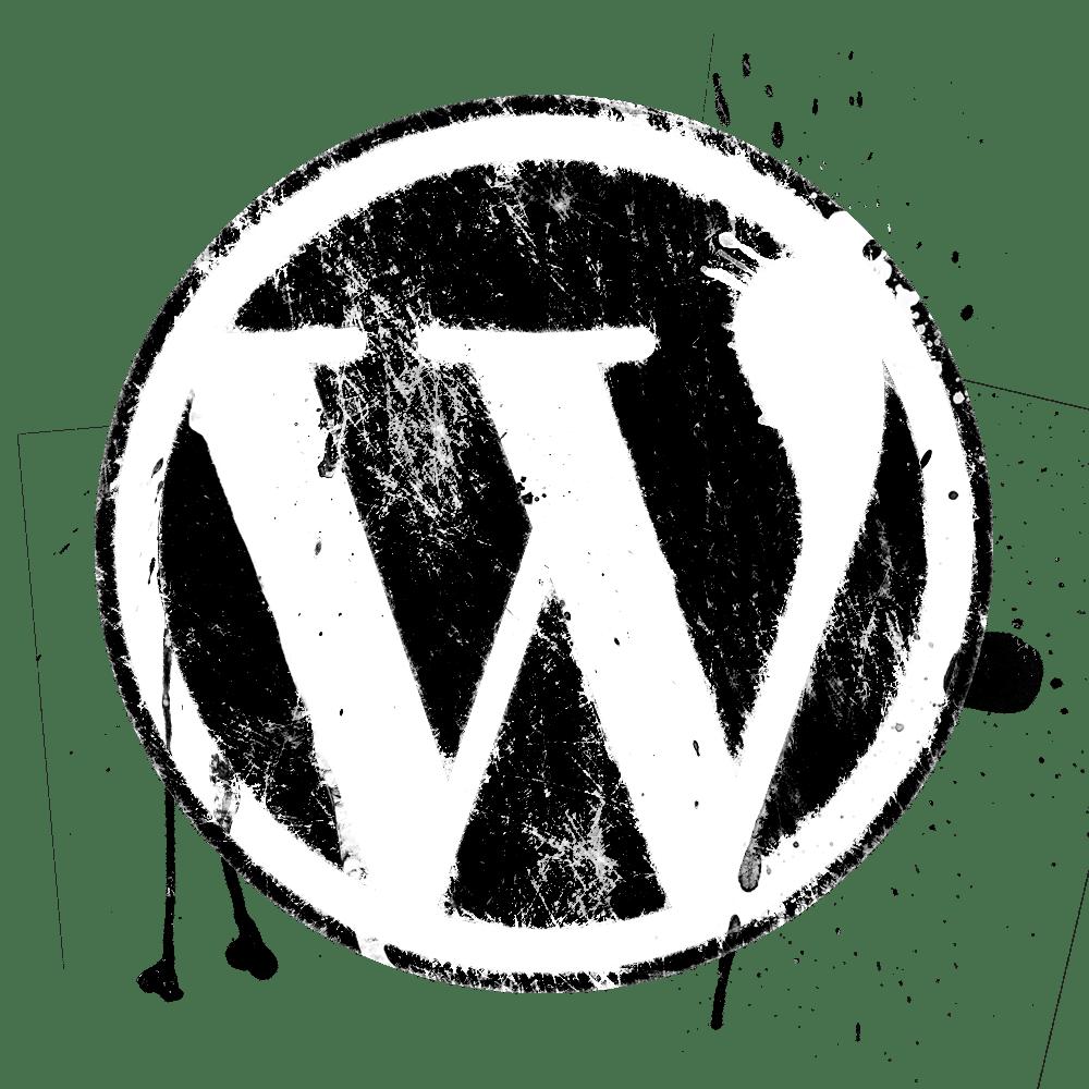 The WordPress logo for a blog post to enhance SEO