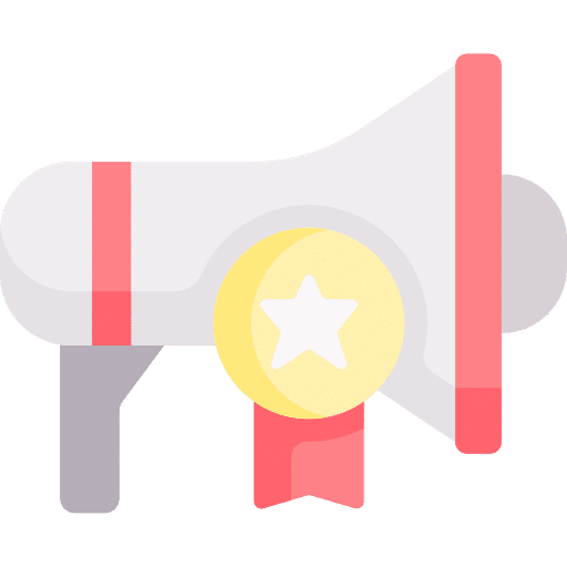 Icon for how effective SEO can drive brand identity and awareness